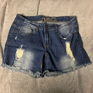 Juniors rue 21 shorts